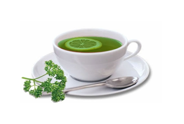 Consume Parsley Tea