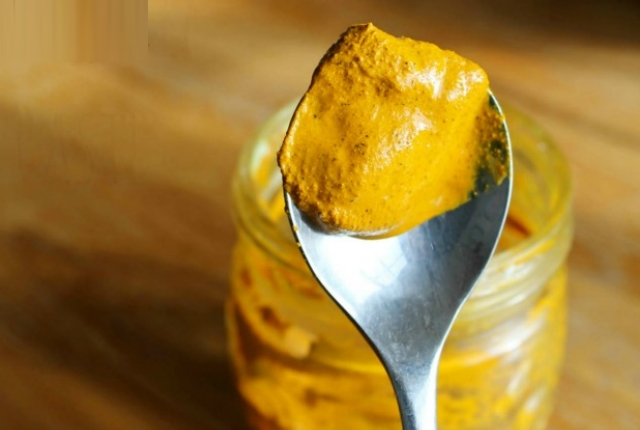 Consume Turmeric And Olive Oil Paste
