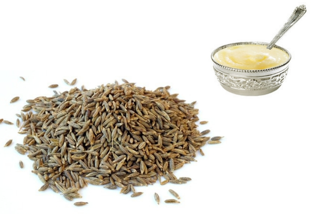 Cumin Seeds and ghee