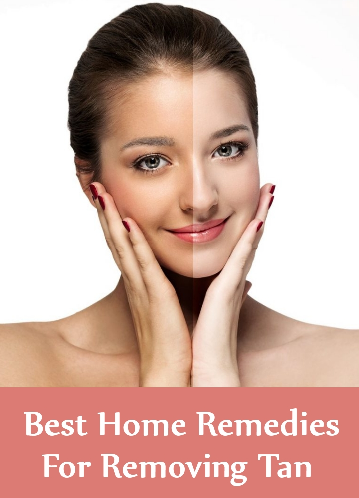 Best Home Remedies For Removing Tan