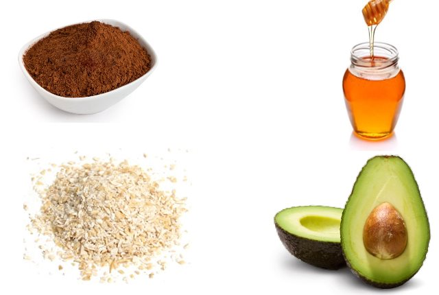 Avocado and Cocoa Mask for Dry and Dull Skin