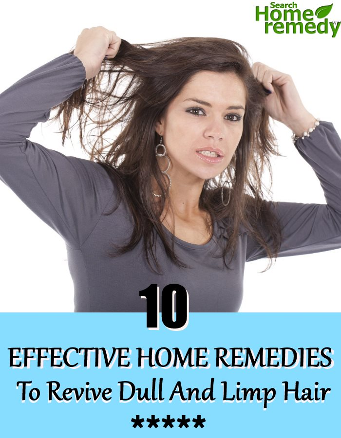 10 Effective Home Remedies To Revive Dull And Limp Hair