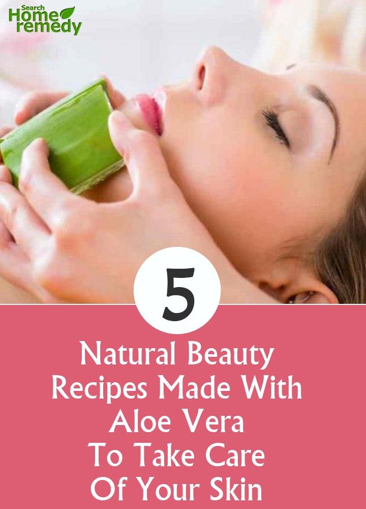 Aloe Vera To Take Care Of Your Skin