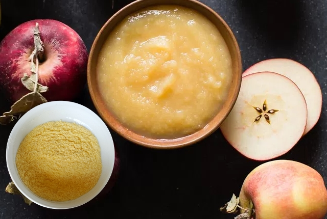 Apple And Cornmeal