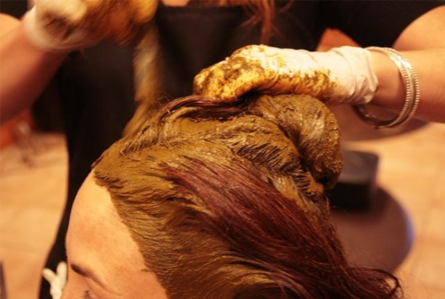 Apply Henna