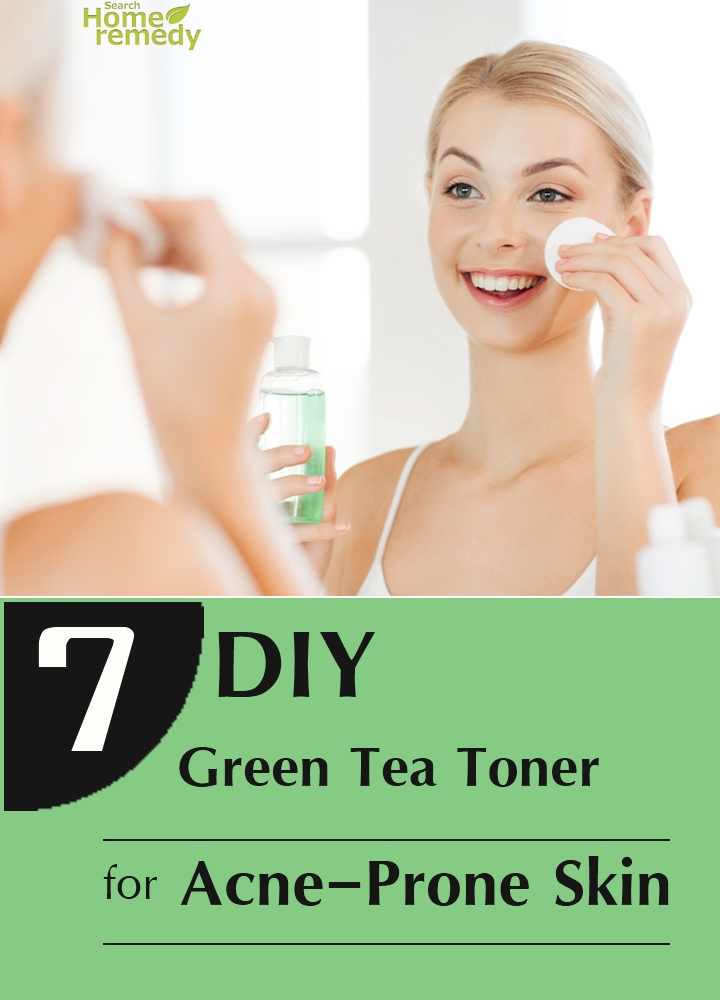 Green Tea Toner For Acne-Prone Skin