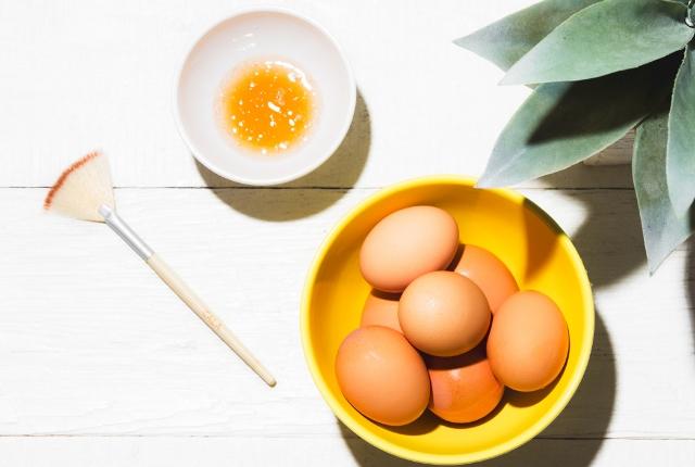 Honey, Egg Mask For Sagging Skin