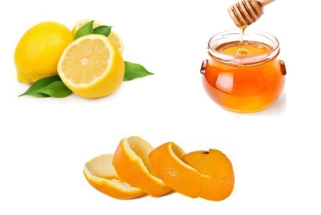 Honey, Lemon and Orange Face Pack