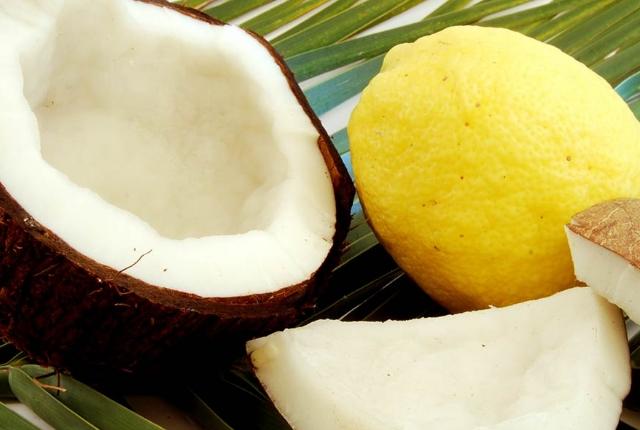 Lemon Juice & Coconut Milk