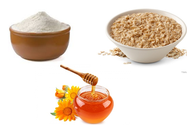 Rice Powder, Oatmeal And Honey