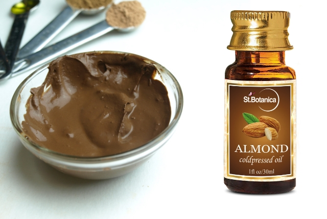 Sweet Almond Oil And Chocolate Facial Mask