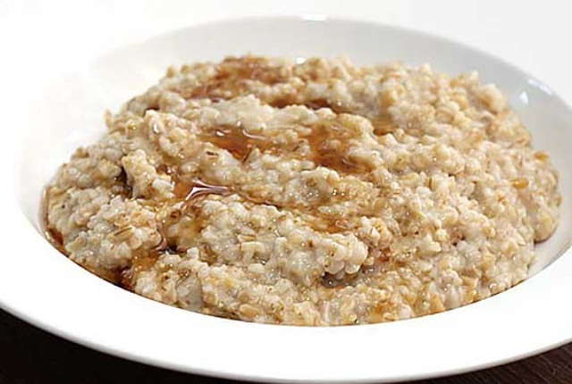 Use Cooked Oatmeal