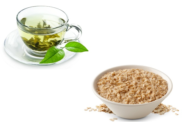 Use Oatmeal And Green Tea