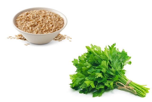 Use Oatmeal With Parsley