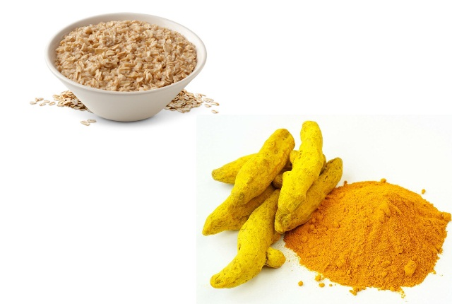Use Oatmeal With Turmeric