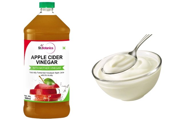 Apple Cider Vinegar and Yogurt