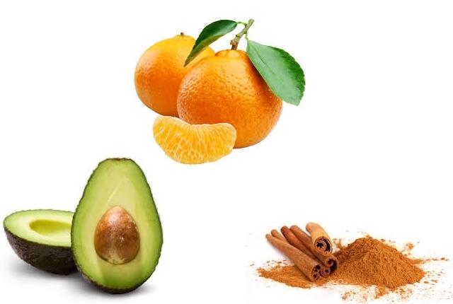 Avocado Orange Cinnamon Honey Mask