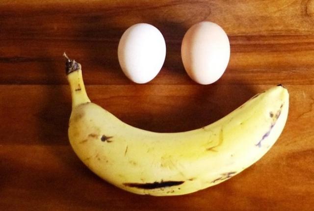 Banana And Egg Face Mask