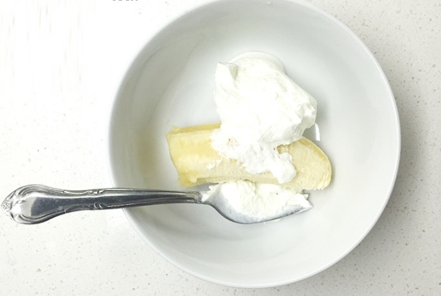 Banana And Yogurt Face Mask