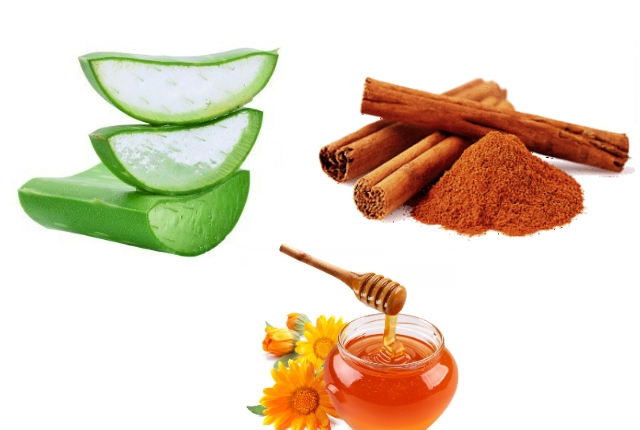 Cinnamon Honey Aloe Vera Mask
