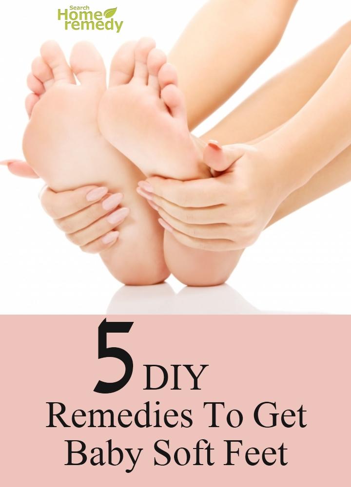 DIY Remedies To Get Baby Soft Feet