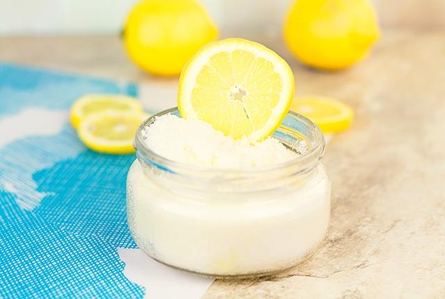 Homemade Lemon Scrub To Soften Dry Tough Feet
