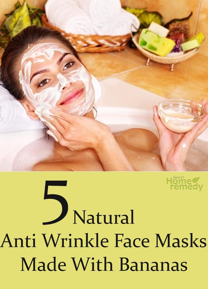 Natural Anti Wrinkle Face Masks Made With Bananas