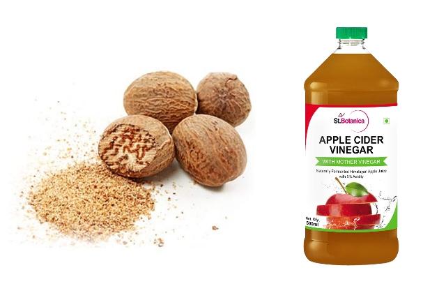 Nutmeg And Apple Cider Vinegar Mask