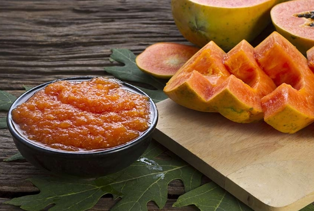 Papaya Pulp Facial