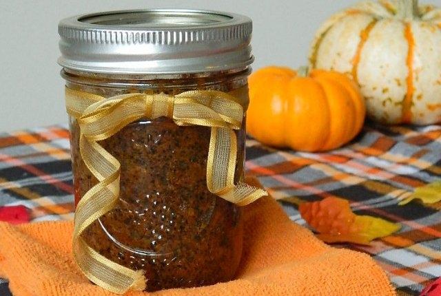 Pumpkin, Sugar And Coffee Scrub