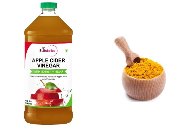 Turmeric With Apple Cider Vinegar