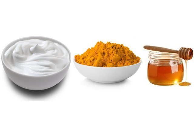 Use Turmeric With Yogurt And Honey