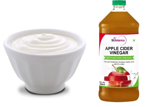 Use Yogurt With Apple Cider Vinegar