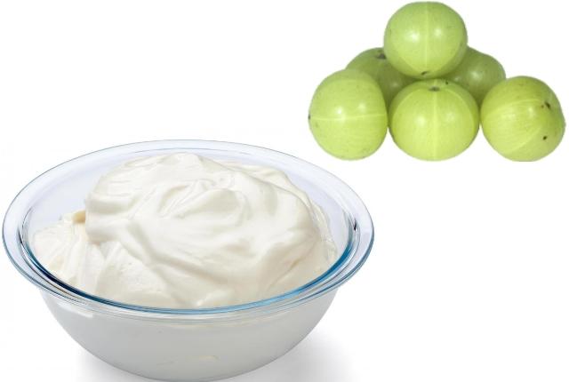 Use Yogurt With Gooseberry