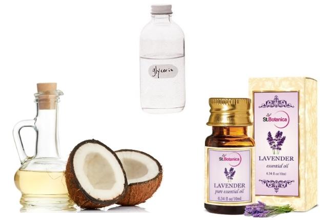 Coconut Oil and Glycerin Shampoo