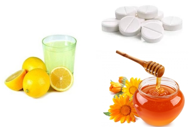 Honey and Aspirin Face Mask with Lemon Juice