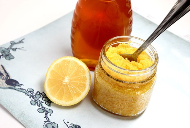Lemon Honey Sugar Hand Scrub