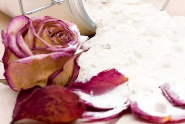 Milk Powder And Rose Water Beauty Recipe