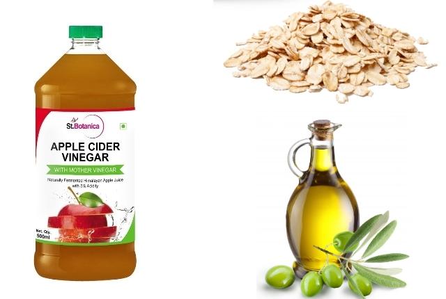 Oatmeal, Apple Cider Vinegar and Olive Oil