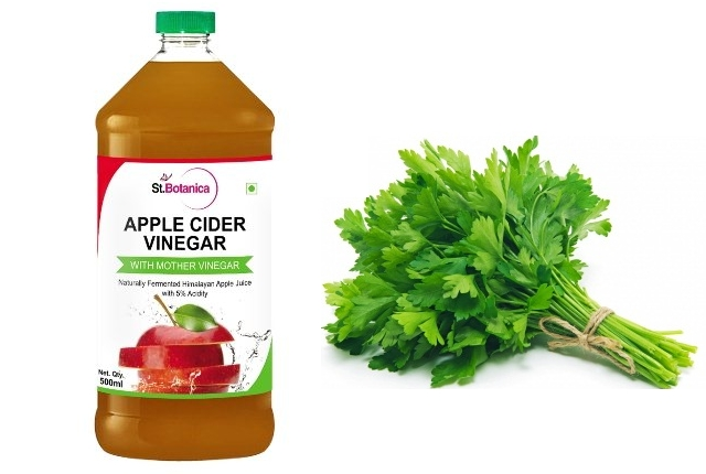 Parsley And Apple Vinegar Face Mask