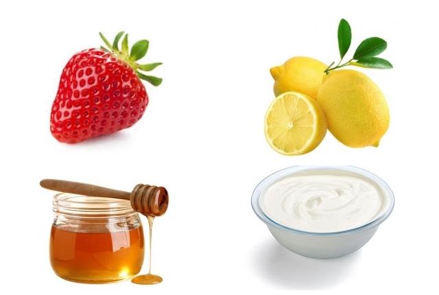 Strawberry with Honey and Lemon Juice