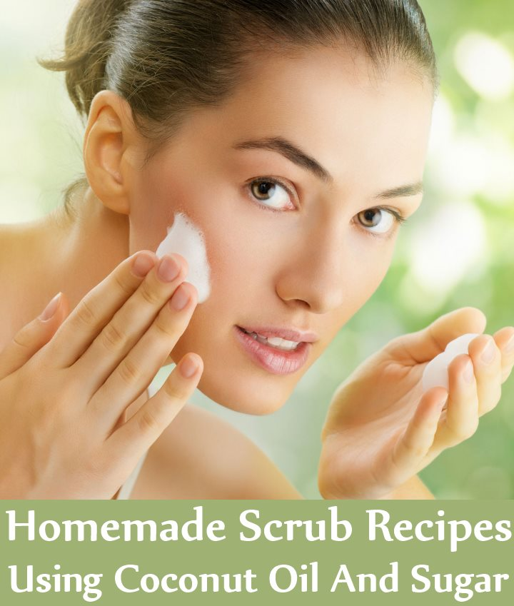 8 Homemade Scrub Recipes Using Coconut Oil And Sugar