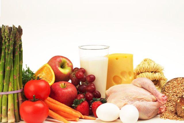 Increase intake of Nutrient Rich Foods