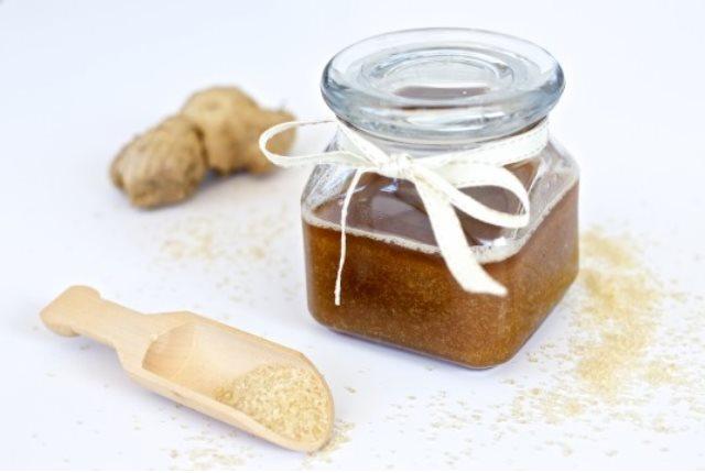 ginger sugar scrub