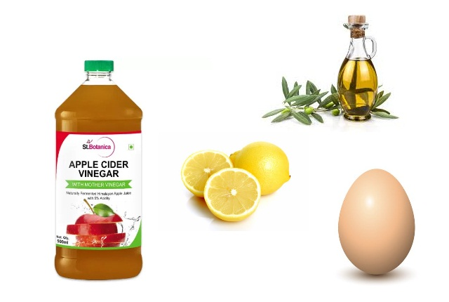 ACV, Olive Oil, Egg And Lemon