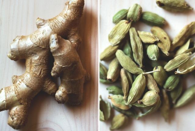 Cardamom And Ginger Tea