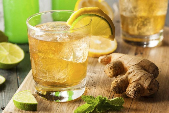 Ginger And Sugar Drink