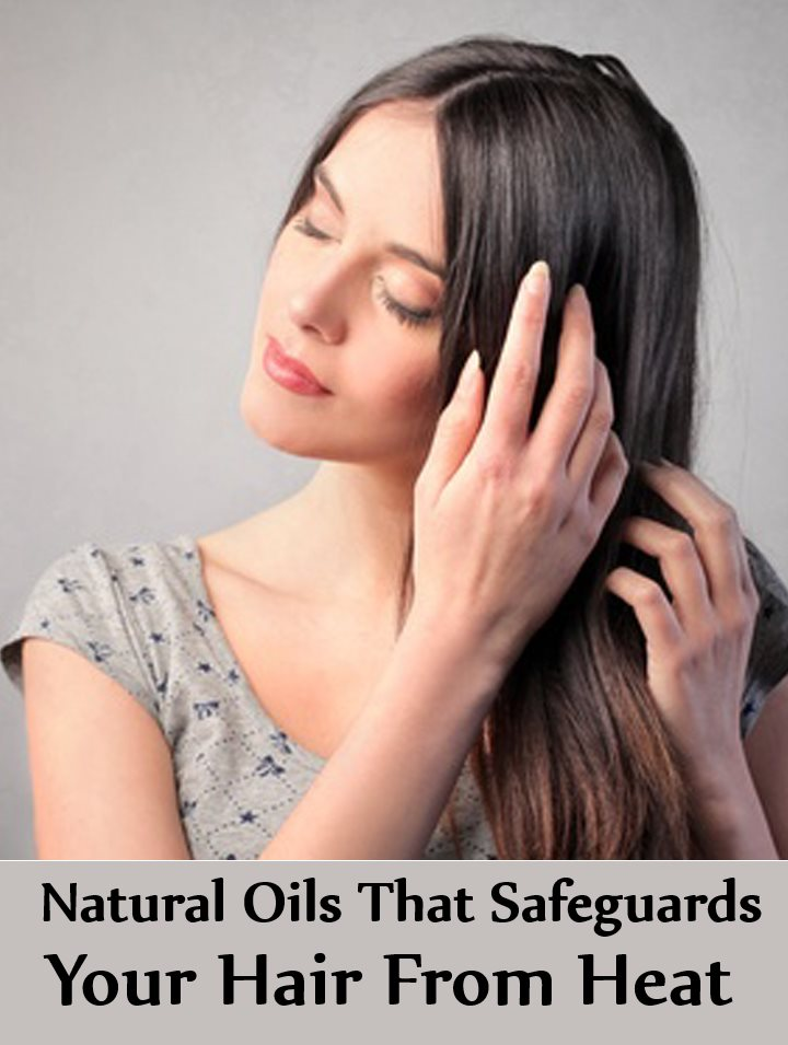 Incredible Natural Oils That Safeguards Your Hair From Heat