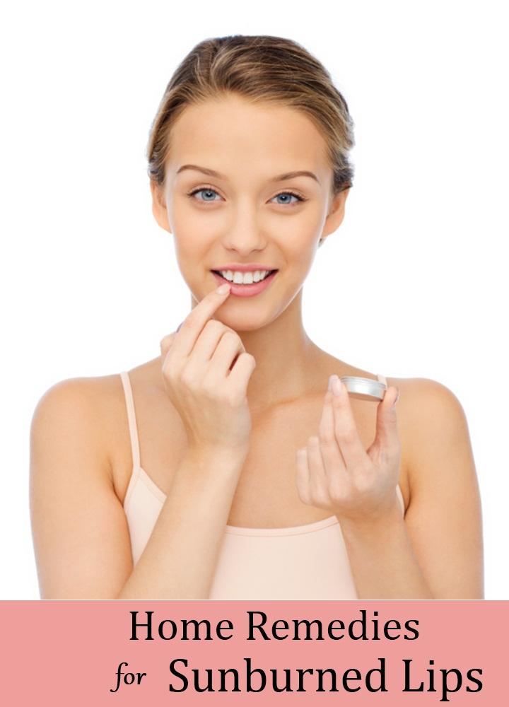 Remedies For Sunburned Lips