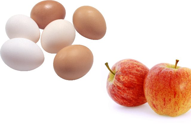 Eggs And Apples